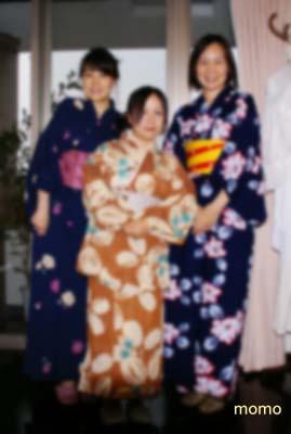 艶姿浴衣3人娘