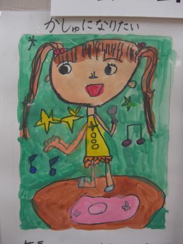 6歳の娘の夢