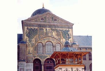モスクの中2