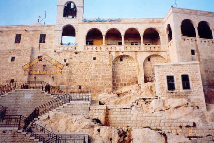シリアでのクリスチャンタウン