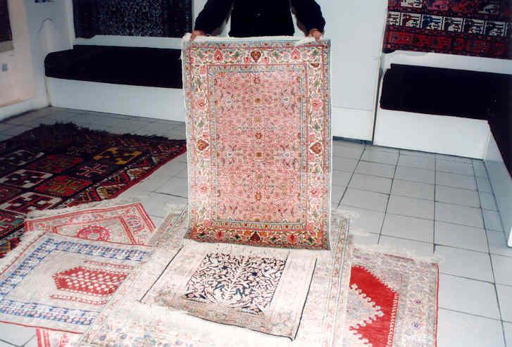 トルコ絨毯売り