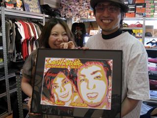 結婚式のウェルカムボードに大人気!!PHOTO GRAFFIC PAINT ART!!