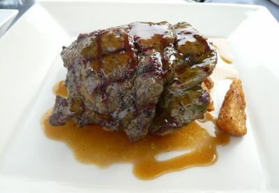 オーストラリア産仔羊のグリエ バジリコ風味