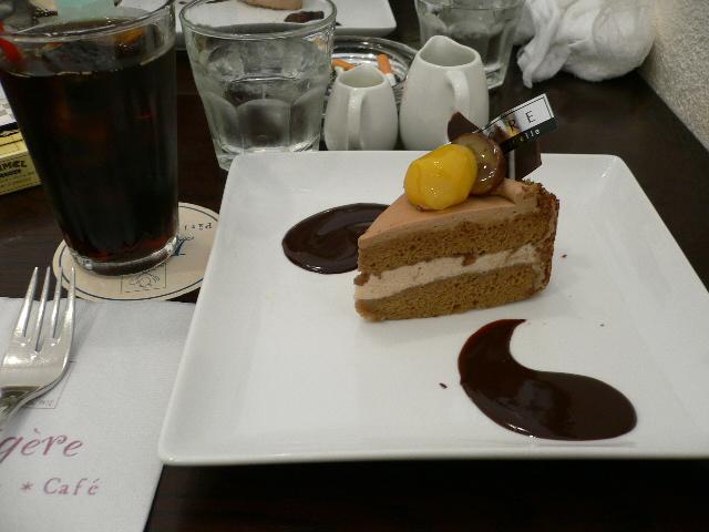 マロンショコラセットでございます!!