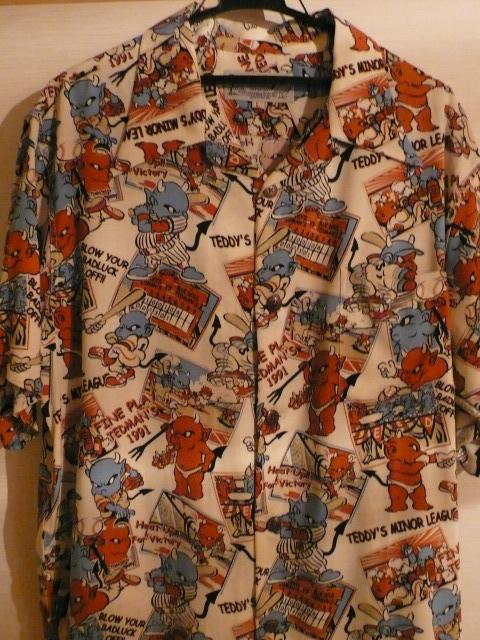 テッドマンのハワイアンシャツ!!