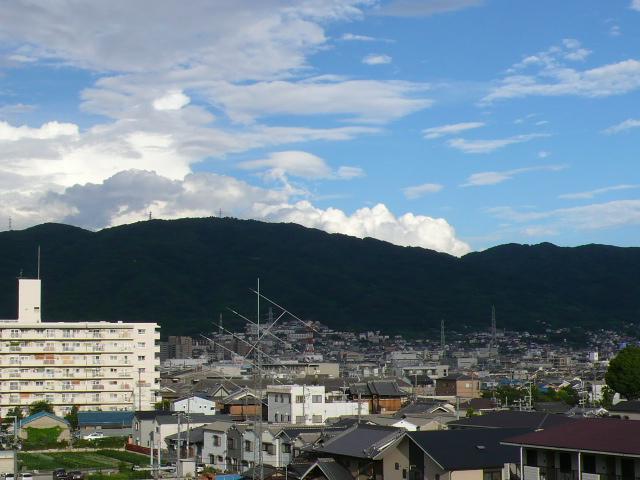 生駒お山も梅雨明けです(^-^)