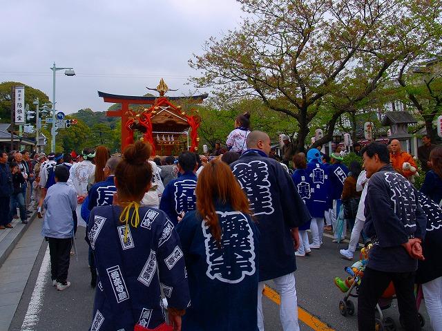神輿ー極楽寺