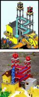 錯覚図形をレゴで再現
