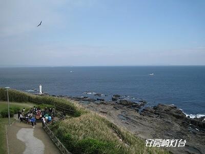 東京湾側の灯台