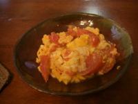 トマトと卵いため