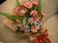 母の日花束1