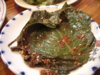 ゴマの葉キムチ