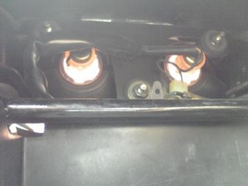 XJR1300 テールランプ交換