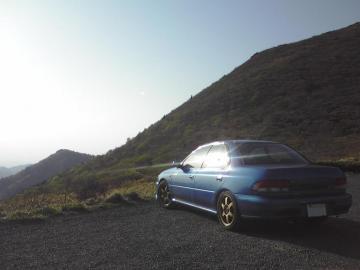 インプレッサ 笹谷峠