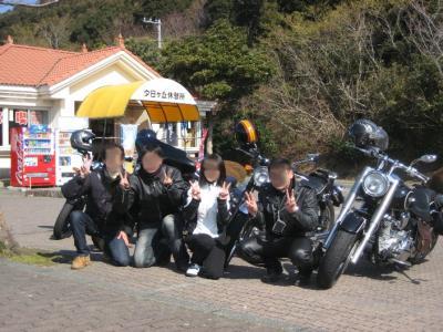 記念写真でy(^ー^)yピース!