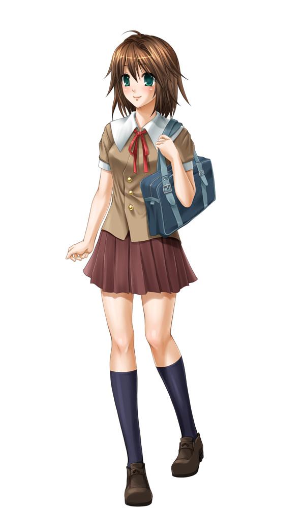 キャラ彩色制服