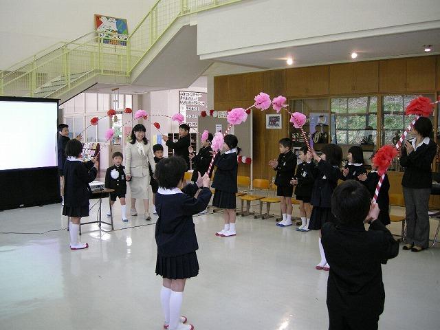 弥富小学校08入学式