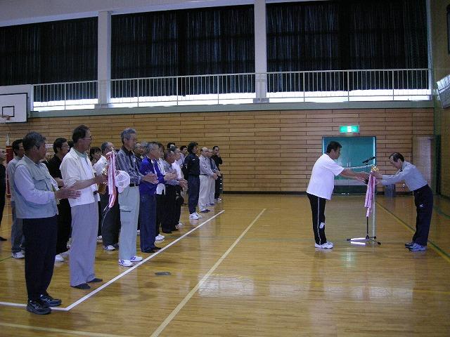 泥落としスポーツ大会08開会式