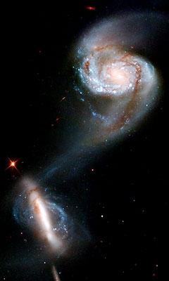 親子の銀河