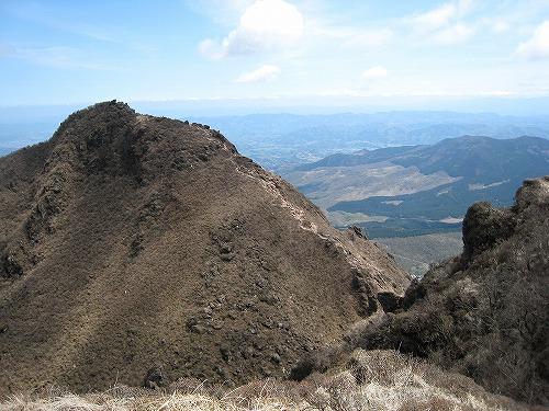 西峰からの東峰