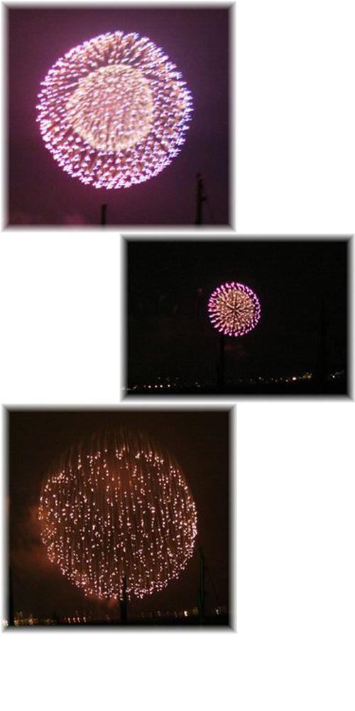 2008年 江ノ島花火2