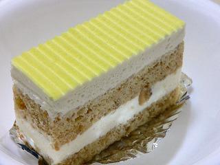 バナナのショートケーキ
