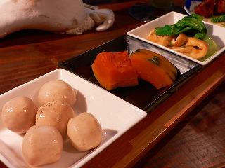 お惣菜三種盛り