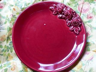 バラのお皿