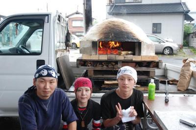 金太郎窯焼きピザ