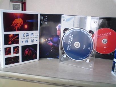 玉置浩二 ライブDVD&2CD