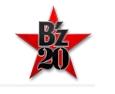 B'zデビュー20周年記念ロゴ