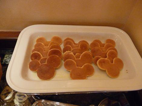 ミッキーのミニパンケーキ