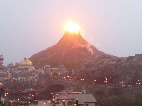 二日目プロメ火山爆発
