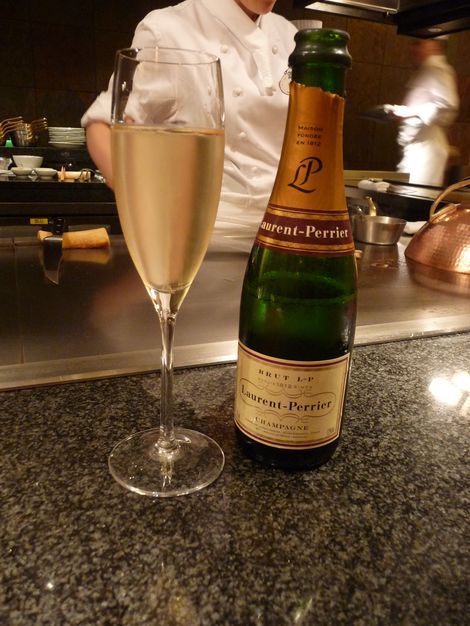 花 シャンパンハーフボトル