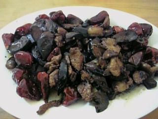 豚肉となすの炒め物