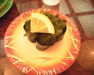 海ぶどう寿司