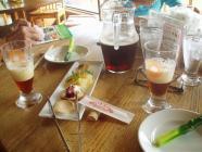東御市の湯楽里館の地ビールH200607
