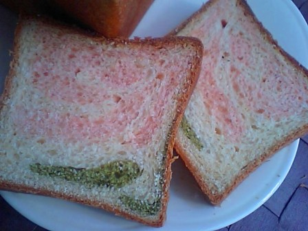 お花食パン