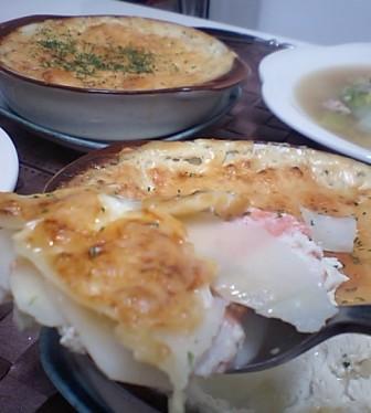 鮭ポテトグラタン