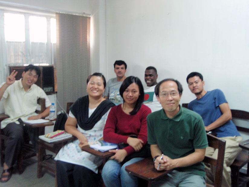 ダッカ大学ベンガル語クラス