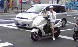 犬とバイク