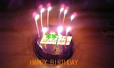 ゆうや9歳誕生ケーキ