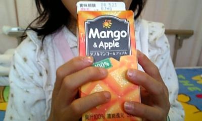 マンゴー&アップルジュース