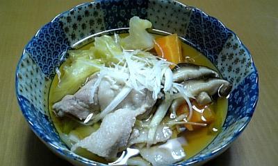 豚バラ野菜煮