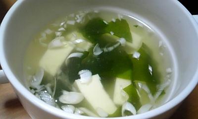 本日のスープ080719