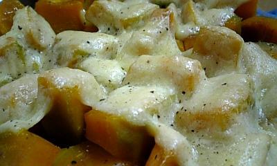 カボチャのチーズ焼き☆