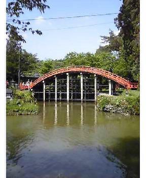 丹生都比売神社の橋