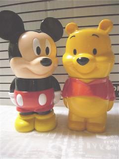 プーさん&ミッキーマウス