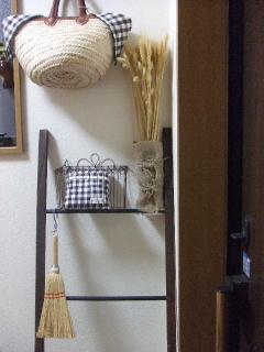 飾り用のラダー