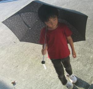 シンプルワイズ日傘